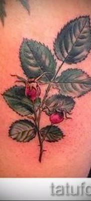 фото тату шиповник для статьи про значение татуировки шиповник – tatufoto.ru – 10
