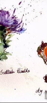 фото тату шиповник для статьи про значение татуировки шиповник – tatufoto.ru – 15