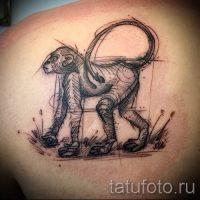 Значение тату обезьяна