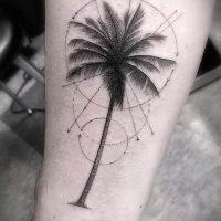 Значение тату пальма