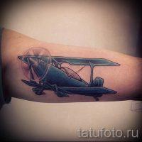 Значение тату самолет