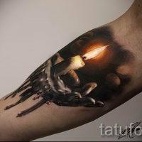 Значение татуировки свеча