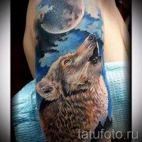 Значение тату воющий волк