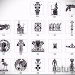 Необычные варианты эскизов для татуировки с иероглифом - необычные примеры картинок