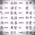 Прикольные варианты эскизов для тату с иероглифом - достойные примеры скетчей