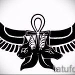 Редкие варианты эскизов для тату с иероглифом - оригинальные примеры скетчей