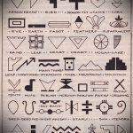 Эксклюзивные варианты эскизов для наколки с иероглифом - редкие примеры скетчей