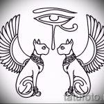 Прикольные варианты эскизов для тату с иероглифом - необычные примеры скетчей