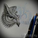 Интересный ваирант эскиза для наколки маска - картинка для создания эксклюзивной татуировки с маской