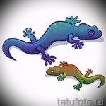 Оригинальный эскиз для татуировки саламандра – рисунок для формирования задумки эксклюзивной tattoo с саламандрой