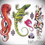 Оригинальный эскиз для тату саламандра – рисунок для формирования задумки уникальной tattoo с саламандрой