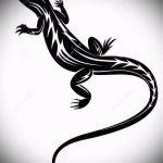 Классный эскиз для тату саламандра – рисунок для формирования идеи эксклюзивной tattoo с саламандрой