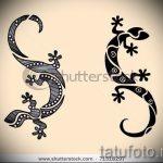 Стильный эскиз для татуировки саламандра – рисунок для формирования идеи особенной tattoo с саламандрой