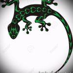 Интересный эскиз для татуировки саламандра – картинка для формирования идеи особенной tattoo с саламандрой
