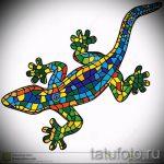 Стильный эскиз для татуировки саламандра – картинка для формирования задумки особенной татуировки с саламандрой
