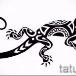Достойный эскиз для тату саламандра – изображение для формирования идеи особенной tattoo с саламандрой