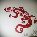 Крутой эскиз для наколки саламандра – изображение для формирования идеи особенной татуировки с саламандрой