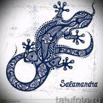 Классный эскиз для тату саламандра – рисунок для формирования задумки эксклюзивной татуировки с саламандрой