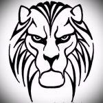 Прикольный эскиз наколки тату тигр (рисунки для татуировки с тигром) - вариант рисунка эскизы тату тигр (рисунки для татуировки с тигром) для разработки интересной идеи тату тигр