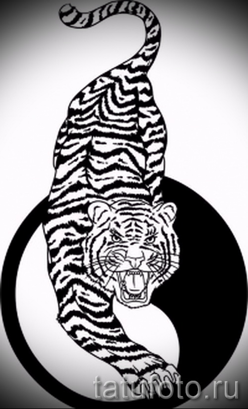 Классный эскиз татуировки тату тигр (рисунки для татуировки с тигром) - идея рисунка эскизы тату тигр (рисунки для татуировки с тигром) для создания уникальной идеи тату тигр