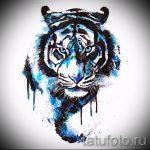 Интересны эскиз наколки тату тигр (рисунки для татуировки с тигром) - идея рисунка эскизы тату тигр (рисунки для татуировки с тигром) для разработки интересной идеи тату тигр