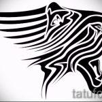 Оригинальный эскиз наколки тату тигр (рисунки для татуировки с тигром) - идея рисунка эскизы тату тигр (рисунки для татуировки с тигром) для создания эксклюзивной идеи тату тигр