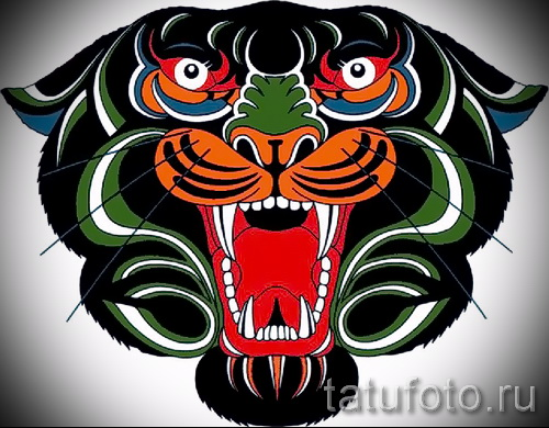 Прикольный эскиз наколки тату тигр (рисунки для татуировки с тигром) - идея рисунка эскизы тату тигр (рисунки для татуировки с тигром) для разработки эксклюзивной идеи тату тигр