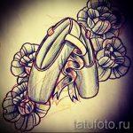 Предложение интересного эскиза для тату с балериной - создание необычной идеи для тату
