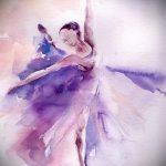 Предложение стильного эскиза для наколки с балериной - создание необычной идеи для татуировки