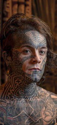 Смелый проект – фото татуированных людей – фото 6
