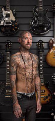 Смелый проект – фото татуированных людей – фото 7