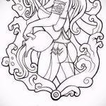 Крутой вариант эскиза тату водолей – знак водолея (созвездие) – картинка для татуировки