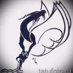 Крутой вариант эскиза наколки водолей – символ водолея (созвездие) – картинка для татуировки