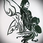 Интересный вариант эскиза татуировки водолей – символ водолея (созвездие) – картинка для татуировки