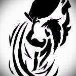 Достойный вариант эскиза татуировки водолей – символ водолея (созвездие) – картинка для татуировки