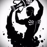 Классный вариант эскиза наколки водолей – знак водолея (созвездие) – картинка для татуировки