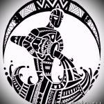 Достойный вариант эскиза наколки водолей – знак водолея (созвездие) – картинка для татуировки
