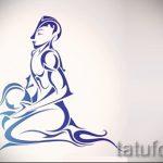 Интересный вариант эскиза тату водолей – знак водолея (созвездие) – рисунок для татуировки