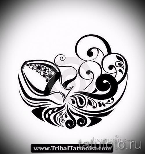 смотреть татуировки с знаком водолей