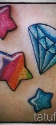 Крутой вариант тату радуга на фото – для статьи про толкование рисунка радуги в тату
