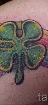 Оригинальный вариант татуировки радуга на фото – для материала про историю рисунка радуги в тату