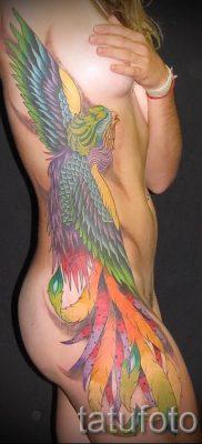 Необычный вариант наколки радуга на фото – для материала про толкование рисунка радуги в тату