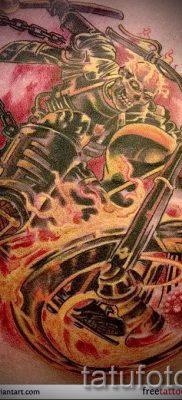 Фото пример татуировки байкеров для статьи про значение – tatufoto.ru – 60
