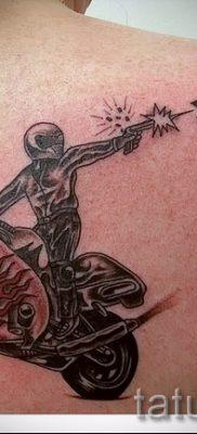 Фото пример татуировки байкеров для статьи про значение – tatufoto.ru – 61