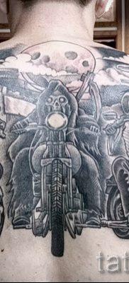 Фото пример татуировки байкеров для статьи про значение – tatufoto.ru – 68
