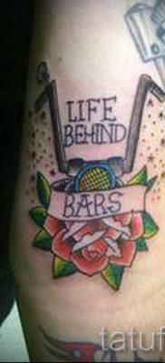 Фото пример татуировки байкеров для статьи про значение – tatufoto.ru – 78