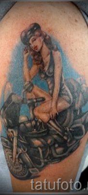 Фото пример татуировки байкеров для статьи про значение – tatufoto.ru – 80