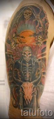 Фото пример татуировки байкеров для статьи про значение – tatufoto.ru – 81
