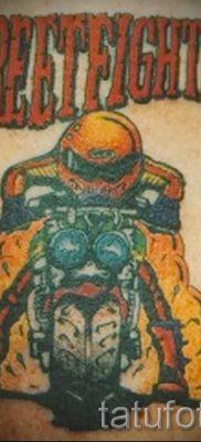 Фото пример татуировки байкеров для статьи про значение – tatufoto.ru – 83