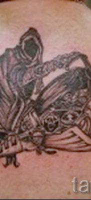Фото пример татуировки байкеров для статьи про значение – tatufoto.ru – 87